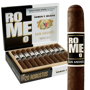 This is a box of Romeo y Julieta San Andres Robusto