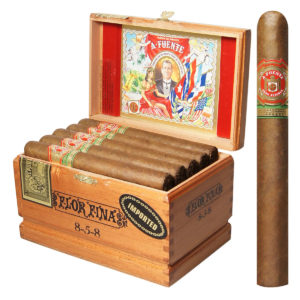 This is a box of Arturo Fuente 8-5-8