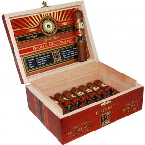 This is a box of Perdomo 12 Year Robusto