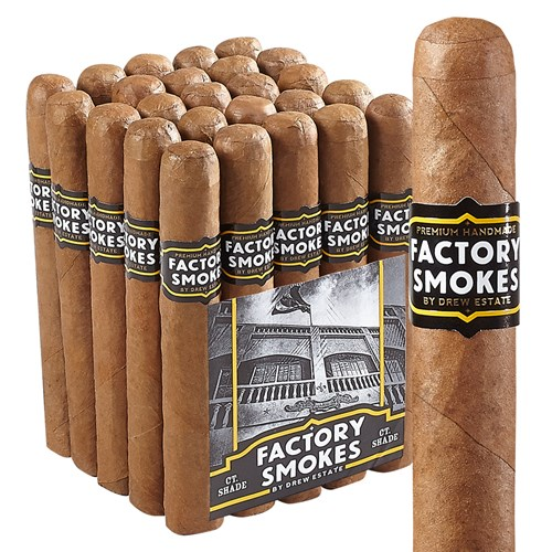 This is a bundle of Factory Smokes Shade - (Churchill)