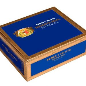 This is a box of RyJ Reserva Real Nicaragua
