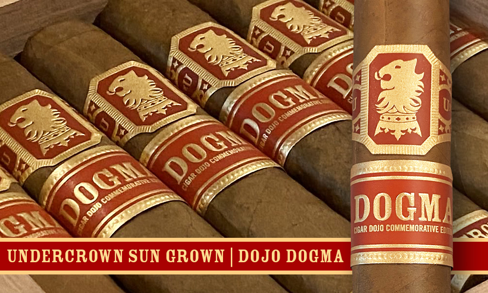 This is a box of Undercrown Sungrown Dogma