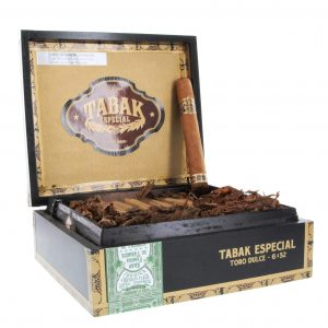 This is a box of Tabak Toro Dulce
