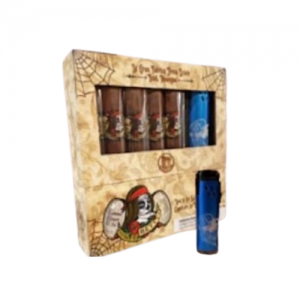 This is a gift set of Fat Bottom Betty Toro Cigars