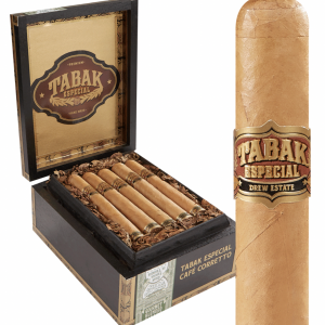 This is a box of Tabak Cafe Corretto