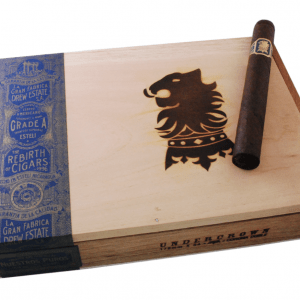 This is a box of Undercrown Maduro Corona Doble